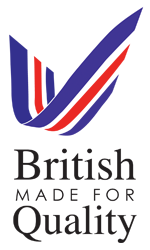 British Made For Quality Button
