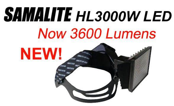 3600 lumen HL3000W LED