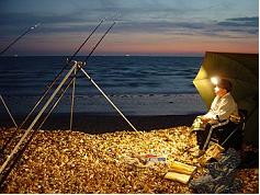 Sea fishing head light