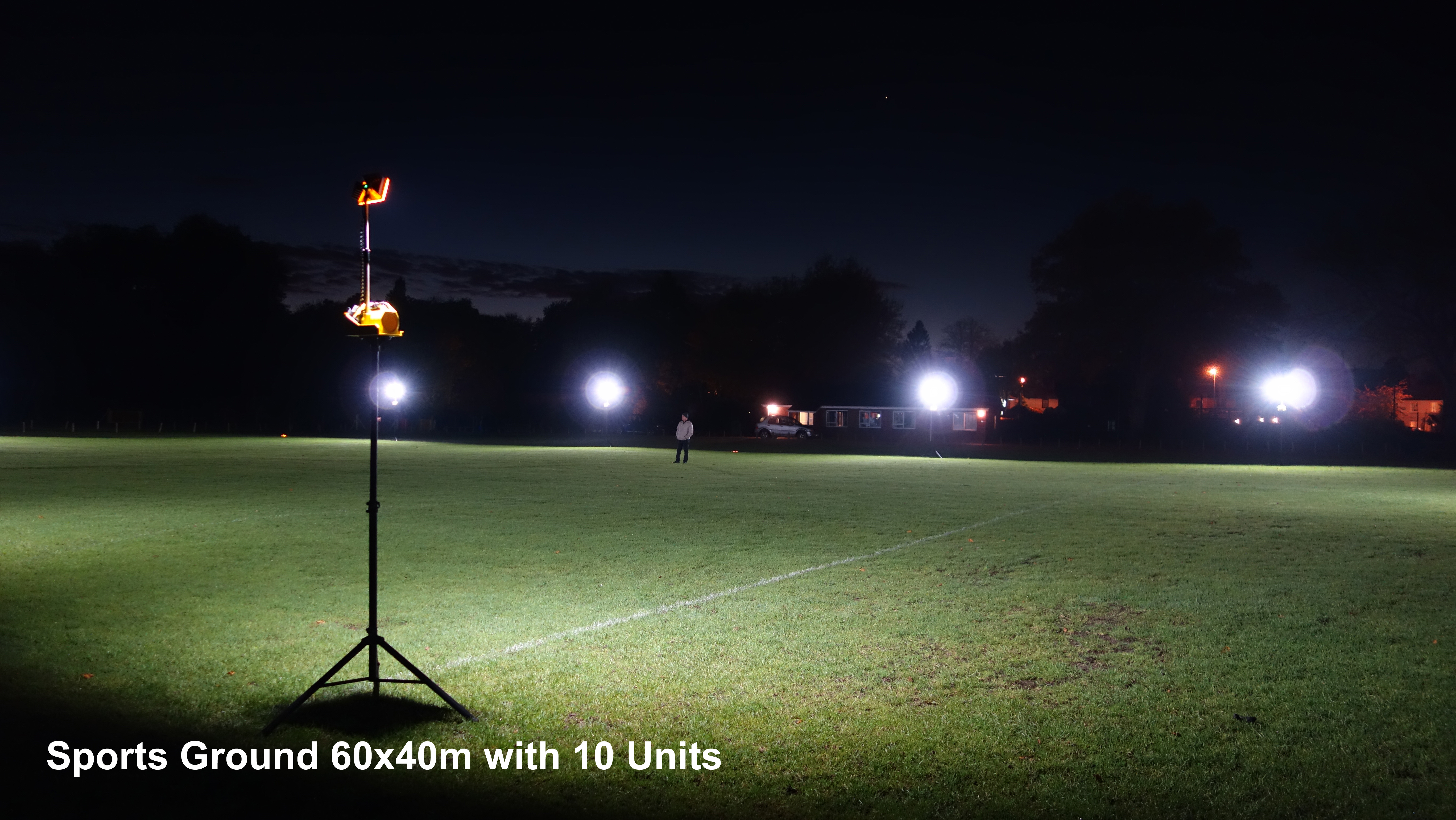 Rechargeable Sports Floodlights